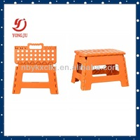 Cheap plastic folding foot stools handle