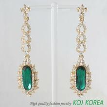 Arabic style earring, 2014 fashion earring, Korea fashion jewelry