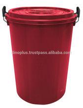 Deino Round Plastic Bucket 75LT - 22 gallon plastic bucket