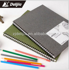 Hardcover sketch book with spiral