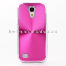CD Pattern Metallic Hard Cover Skin Shell for Samsung S4 Mini