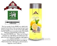 Lemon flavored Black Tea