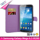 Book Style Leather Pouch Cover For Samsung Galaxy Mega 6.3