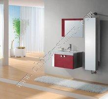 2014 HOT 360 degree rotatable side cabinet, 304 stainless steel bathroom vanity