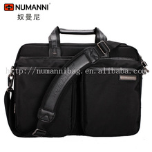 NUMANNI shoulder strap laptop bag two laptops