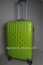 2014 Fashion Polka Dot 4 wheel Hard Shell Travel Luggage