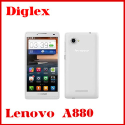 Lenovo A880 6 inch Android 4.2 Phone MTK6582 Quad Core 1.3GHz 8GB ROM 5.0MP Camera WCDMA GPS Multi Languages 3G Phone