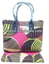 wholesale fabric bag/african wax print bags/ladies hangbags