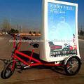 Trois roues électriques promotionnel. mobil. publicité led de vélo