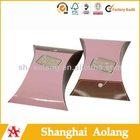 perfect design pillow shape paper gift box