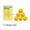 Indoor practise golf ball ,plastic golf hollow ball A126
