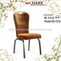 Plataforma de apilamiento sillas de banquete w de la corona espalda y el marcos de acero