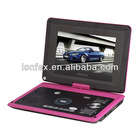 9.5 inch swivel hot video player with 3d tv