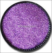 Lilac Glitter Cosmetic