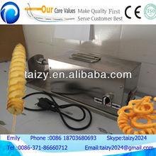 potato chips making machine/potato spiral cutter/stainless steel potato spiral cutter with CE