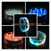 Under Vase LED Llight For Centerpiece / LED Undervase Centerpiece Light