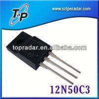 lowest price with best sanken transistor 12N50C3