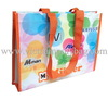 Reusable non woven shopping bag / pp non woven bag with lamination