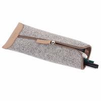 felt rainbow drawstring pen pouch for 2014 new design