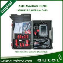 Auto Scanner 2014 Autel Maxidas Ds708 diagnostic scanner,professional and 100% original autel maxidas ds708 auto diagnostic tool