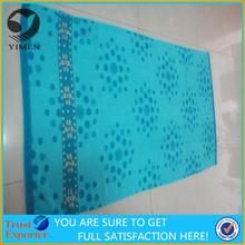 100 cotton velour promotional beach/bath towel with print logo