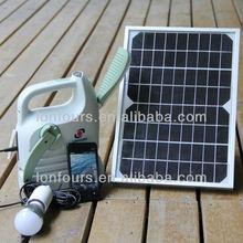 SCL30 portable solar lantern for solar power mini fan