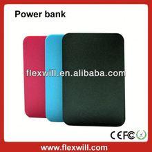 4000mah slim design multifunction power bank surport FM radio & mp3 & TF card function
