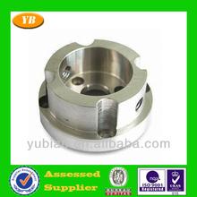 Aluminum cnc cap parts for connection , aluminum cnc parts