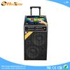 2014 professional moving KTV portable speaker active audio 12 inch subwoofer