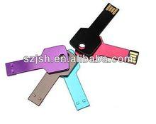 promotion key shaped usb stick 2gb,4gb stainless steel key usb flash drive,2gb car key usb driver