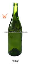 Vazio garrafas de vinho importação Vodka Rum Jin Tequila garrafa de vinho de vidro