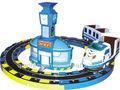 szf interurbani favoloso treno carosello i bambini giocano in treno