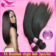 Fantastic hair expression 100% unprocessed silky straight virgin brazilian human hair weaving