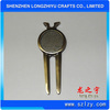 Wholesale Customized Promotional Golf Divot Tool Products With Antique Gold,Blank Golf Tools Accessories