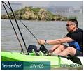 nouveau design chaude unique en fibre de carbone siège de kayak de mer