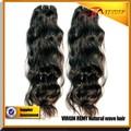 malaysian cheveux ondulés vierge 100 mieux regarder des extensions de cheveux de queue de cheval