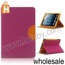 DiscoveryBuy Jeans Pattern Stand Flip Leather Case for iPad Mini 2 Retina