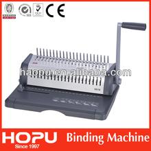 Fashion glue binding machine for A4 from Hopu made in China