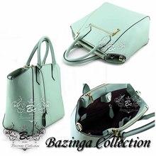 BCL-S009 NEW Genuine Korean Nappa Cow Leather Women's tote hobo travel Shoulder handbag