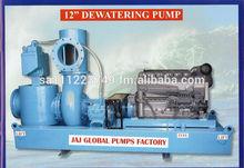 DEWATERING PUMP WITH DIESEL ENGINE