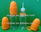 10ml clear essential oil e liquid bottle with pipette