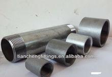 American/ British/ DIN Standard Galvanized Carbon Steel Pipe Nipple