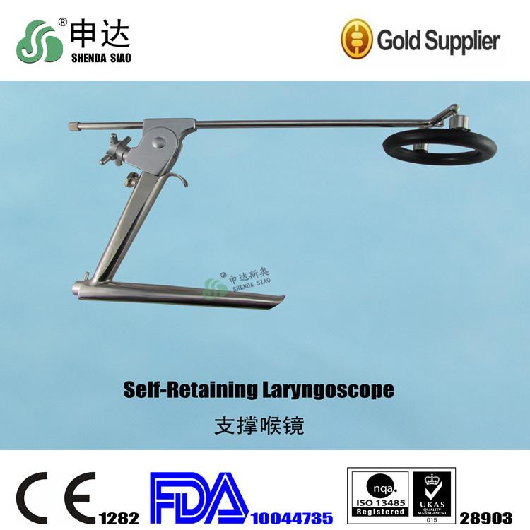 Laryngoscopic View of Larynx Laryngoscope View