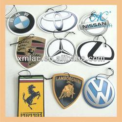 Custom logo paper air freshener for car aroma sticker