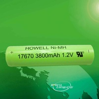 3.6v 3800mah ni-mh battery repack in China