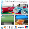 Colour coated metal building material , construction material