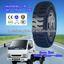 Small size truck tyre 4.00-12 used for light trucks Huasheng and Taitong brand tire factory