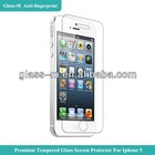 Glass-M Factory 9H Hardness Screen Cover Film Screen Protection Tempered Glass For Iphone 5