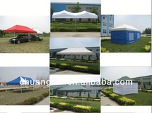 steel or aluminum alloy 10x10 folding tent