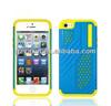 Unique Football Texture Plastic and Silicone Case for iPhone 5,for iphone 5 Pc Silicon Case